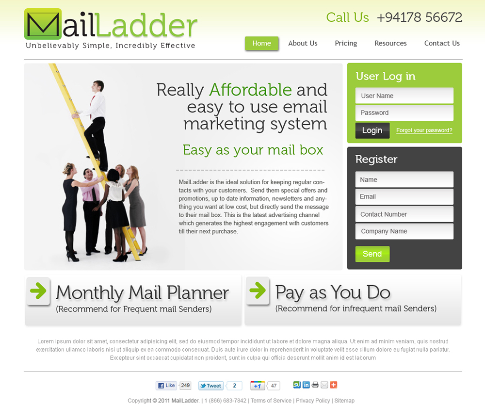 Mail Ladder